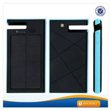AWC940 8000mAh Holder Portable Dual USB 5V2.1A Output Solar 8000mah power battery for samsung galaxy s3 lighter charger