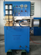 Copper welding machine with flaring function