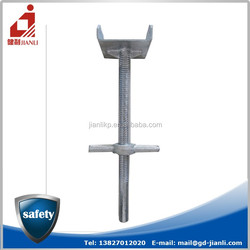 Scaffolding material u head jack base for shoring