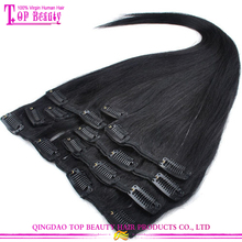 Manufacturers wholesale beautiful charming malaysian hair 30 inch hair extensions clip in