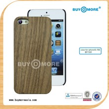 distributor and import innovative walnut wooden cheap case cover skin for iphone 5c