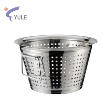Low price factory wholesale stainless steel vegetable basket strainer for washing