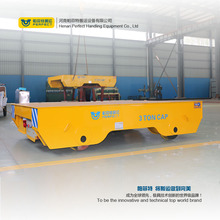 bxc-3 tons electric flatbed rail guided vehicle