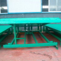 Hydraulic Stationary adjustable dock loading yard ramp