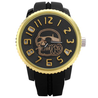 men's Skull and crossbones factory direct fashion watch wholesale watches