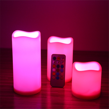 Windproof waterproof decorative LED candles
