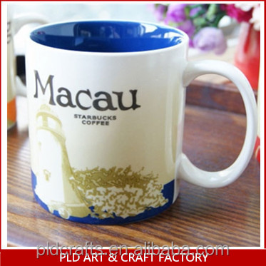 Ceramic Macau Starbucks City Mugs Wholesales