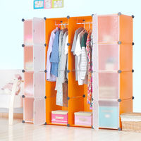 DIY storage cubes combination cabinet