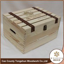Rectangular Small Packaging Wooden Wine Box