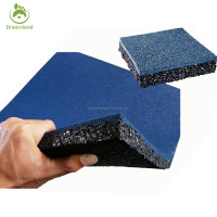 Eco Friendly Kids Safe Rubber Tile
