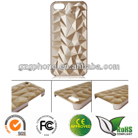 Special style PC case for iphone 5 with rubber coating
