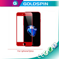 Explosion-proof Red 3D full cover tempered glass for iphone 7 plus screen protector