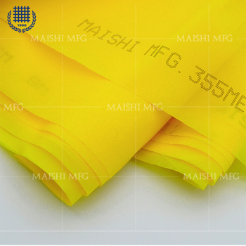 Monofilament Polyester 39t-55um Screen Mesh for textile