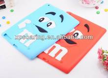 Brand new silicone case for ipad 4, for ipad 3 soft smell skin cover