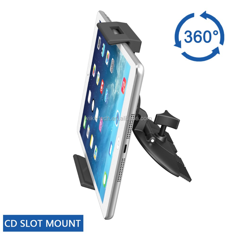 Tablet CD Mount , Apps2car Car CD Slot Cradle Holder for iPad/Mini/Air/Tablet