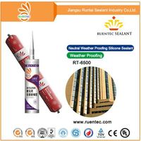 Sanitary Non-Flammable Gp Clear Silicone Sealant