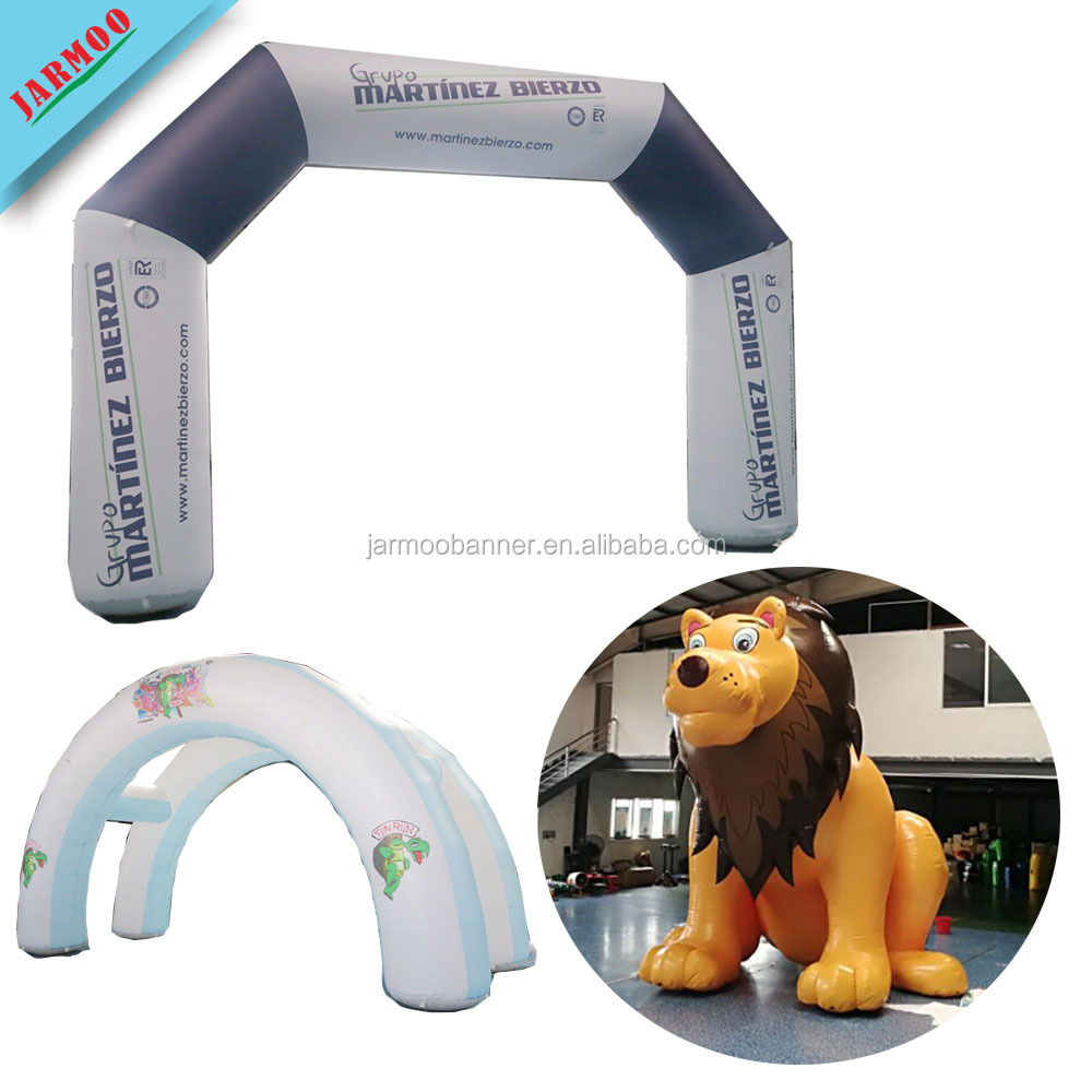 JARMOO factory Custom Cheap Inflatable Arch,Printing Inflatable Advertising Arch