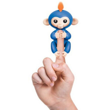 Fingerlings Baby Monkey Blue