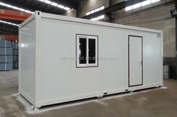 flat pack wooden cabin prefab container living house