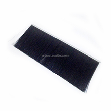 flexible horse hair aluminum door weather stripping brush