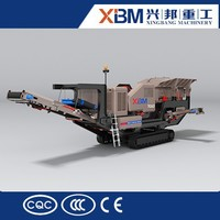 High performance crawler mobile crusher with best price