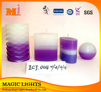 Decorative Spiritual Pillar Candles with Different Size and Scents