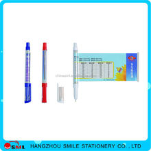 STATIONERY promotional syringe metal pen
