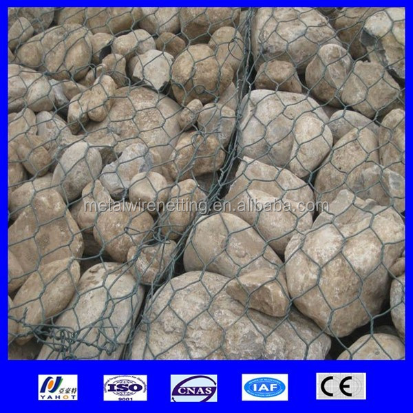 factory supply pvc coated hexagonal wire netting