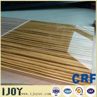 interior decoration material UV MDF board in Dubai high gloss mealamine mdf board