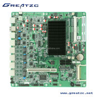 ZC-M256L Intel Atom Motherboard onboard 6 Network Card&PCI&CF ,Computer motherboard with 6 lan ports good for Internet gateway