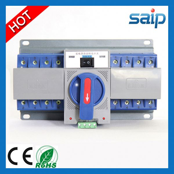 2013 New socomec dual power automatic transfer switch