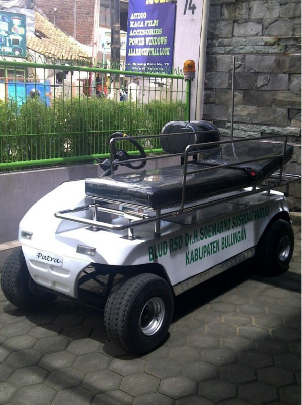 Patrev (Patra Electric Vehicle) Patient