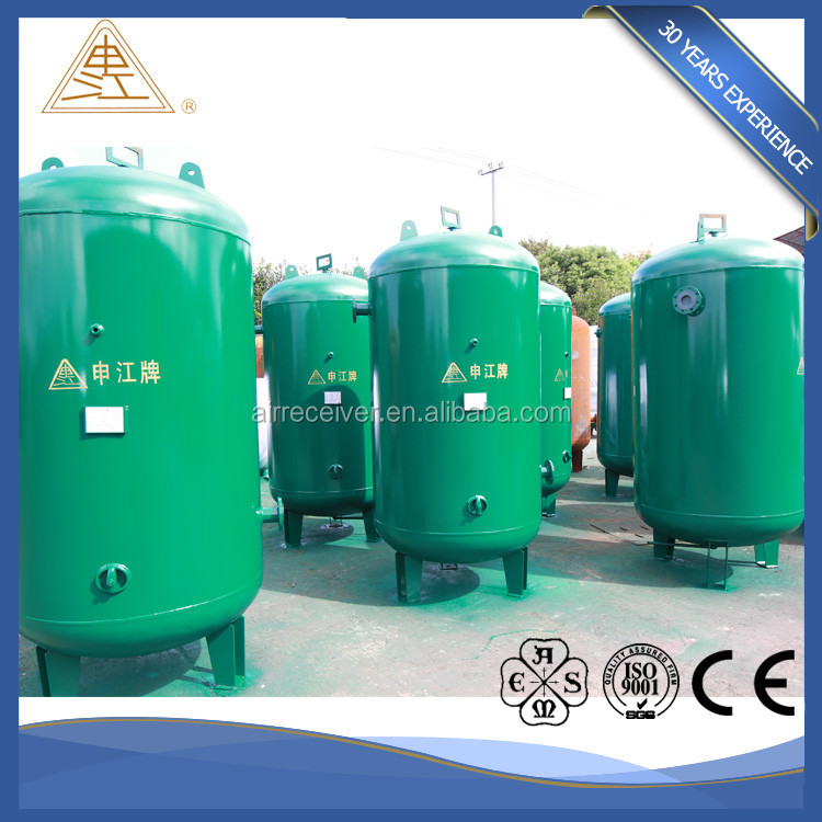 10Bar vertical air receiver tank for compressor