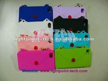 ladies bag silicone case for iphone 4