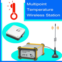 Multipoint Temperature Wireless Station mini wireless weather station