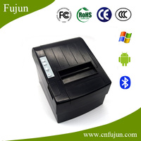 "300mm/s Speed Black 3"" Pos-8220 80mm Receipt Thermal Printer With Bluetooth For Win10 Linux Computer / Laptop / Tablet"