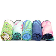 Wholesale Custom Embroidery Non-slip Microfiber hot Yoga <strong>towel</strong>