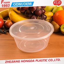 Non-toxic plastic insulated food warmer containers with FDA certificate