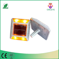Roadway safety led aluminum road cats eye,solar powered road reflector