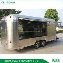 Mobile street kitchen concession trailer mobile food cart for fast food