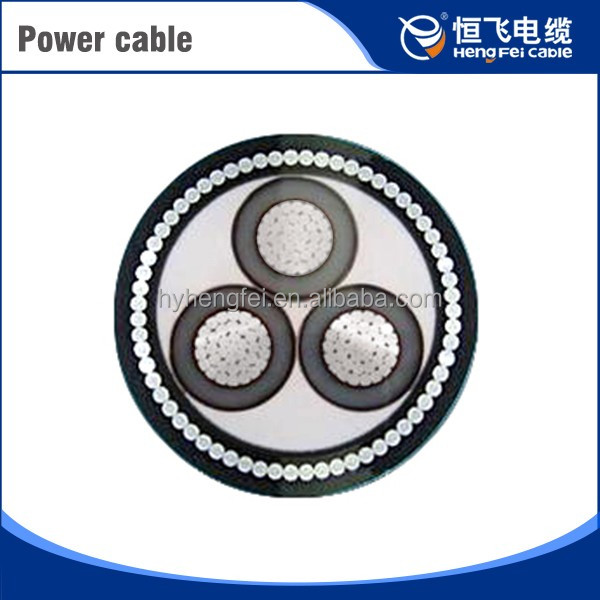 Solar Armored High Quality Pvc Flexible Power Cable