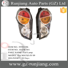 AUTO TAIL LAMP FOR CHEVROLET DAEWOO MATIZ-IV 09 RH: 95952196 / LH: 95952197
