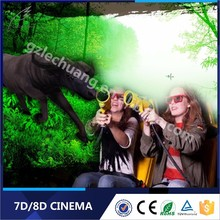 Canton Fair Crazy Amusement Equipment 5D 6D 7D 9D Xd Cinema