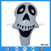 Promotional best selling inflatable skull toy for Halloween