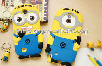 Fashion style smartphone case for iphone 5 Despicable Me case