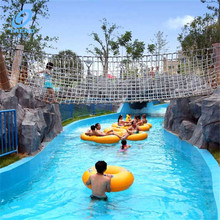 Water park lazy river pool equipment+drifting river+ lazy river