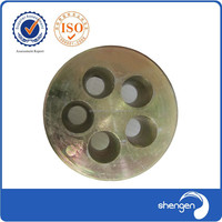 Wedge Slab Steel Wire Multiple Hole Post Tension Concrete Bridge Construction Anchor System