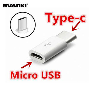 PVC material USB 3.1 Type C Male to Micro USB Female OTG Adapter