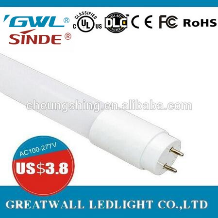 white/warm white color 16W led light tube 120cm 3 years warranty