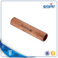 GT tube copper wire connector /electrical copper cable sleeve